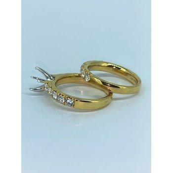 Six Prong Diamond Ring Mounting