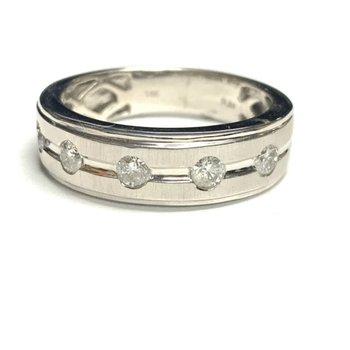 .50ct Diamond Wedding Band