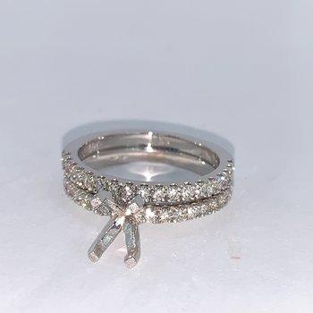 Diamond Ring Mounting & Band