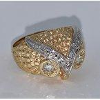 Decor Diamond Owl Ring