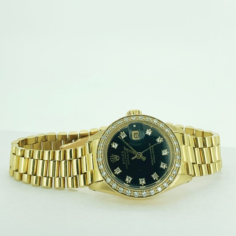 Pre-owned Rolex Ladies President