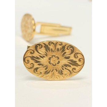 Vintage Floral Cuff Links