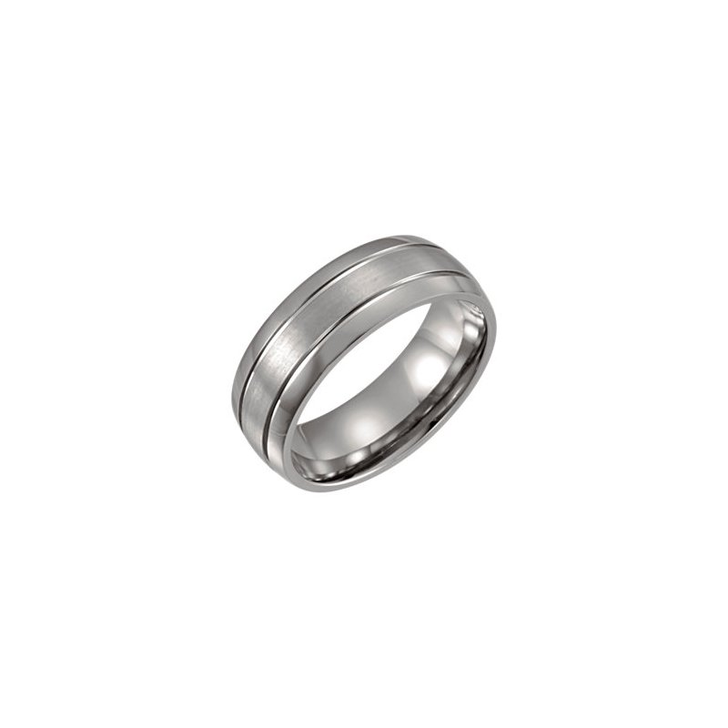 Decor Gent's Titanium Wedding Band