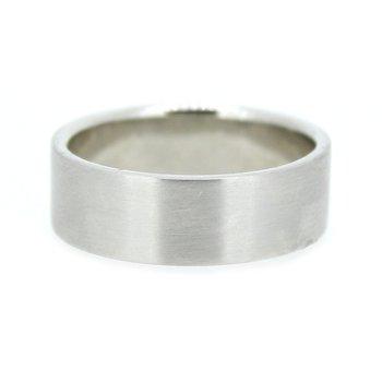Platinum Men's Wedding Band