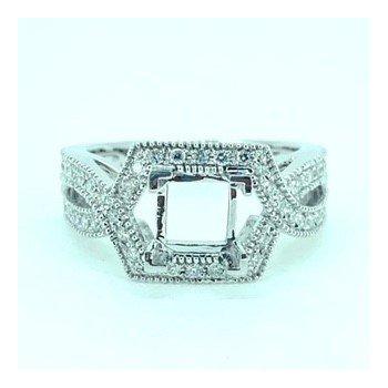 Crossover Diamond Ring Mounting
