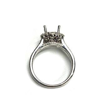Split Shank Halo Ring Mounting