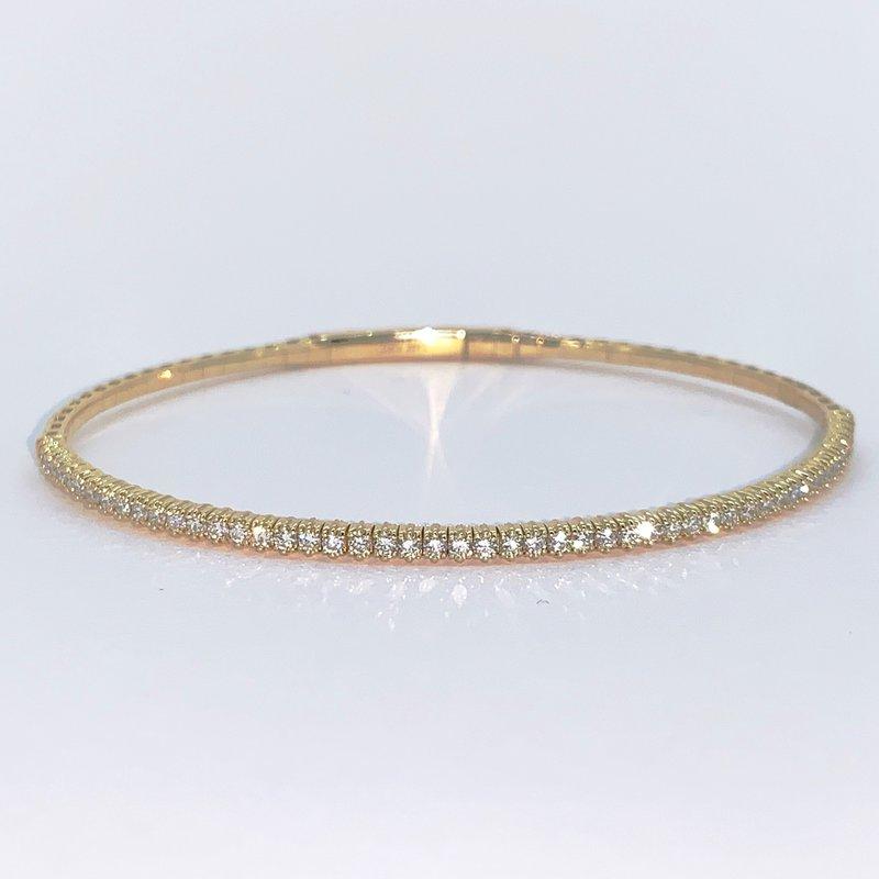 Decor .75ctw Flexible Diamond Bracelet