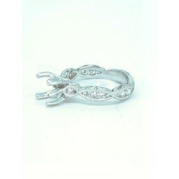 Diamond Filigree Ring Mounting