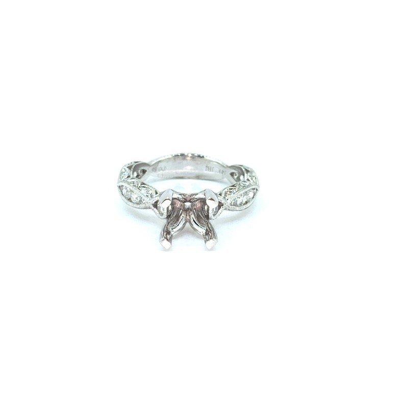 Decor Diamond Filigree Ring Mounting