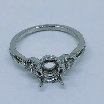 Round Diamond Ring Mounting