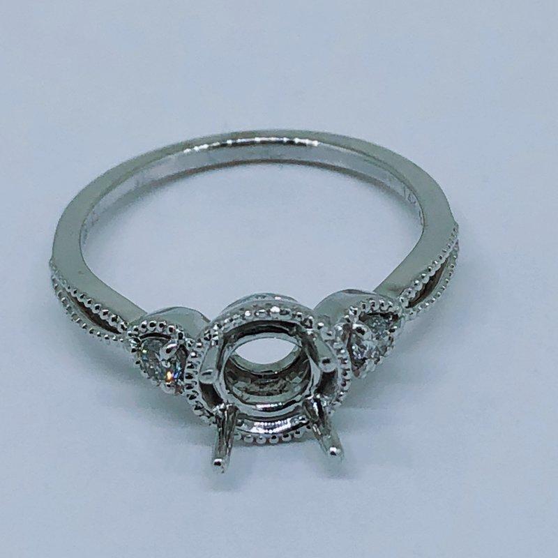 Decor Round Diamond Ring Mounting