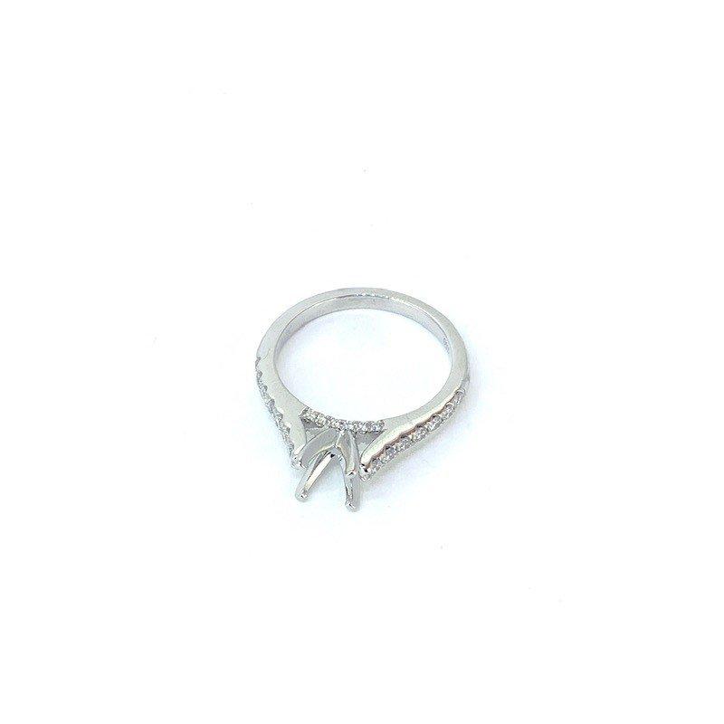 Decor .43CT DIAMOND SEMI MOUNT