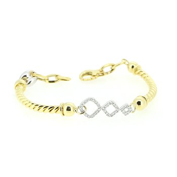 Gold & Diamond Bracelet