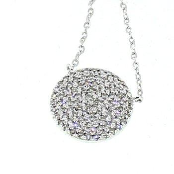 Pave Diamond Necklace