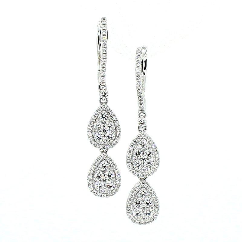 Decor Diamond Drop Earrings