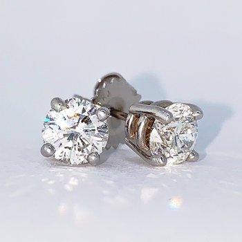 1.40ct Diamond Stud Earrings
