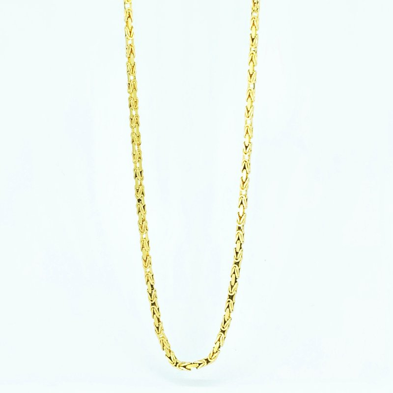 Decor Gold Byzantine Chain Necklace