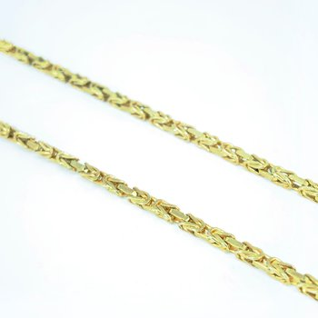 Gold Byzantine Chain Necklace