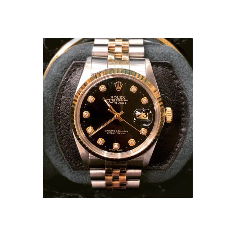 Pre-owned Rolex Gents Two Tone Datejust