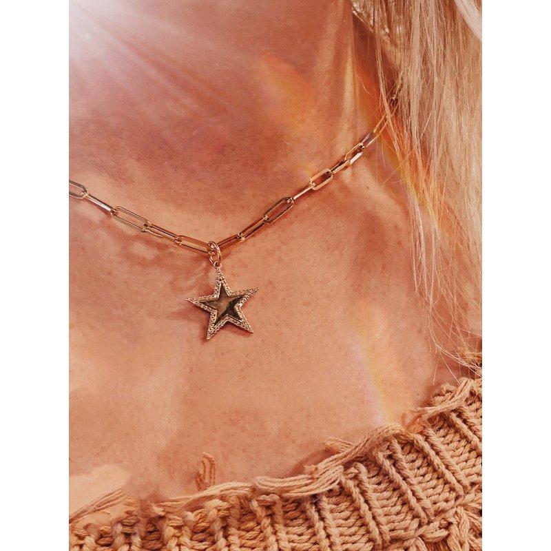 Sabrina Diamond Star Pendant