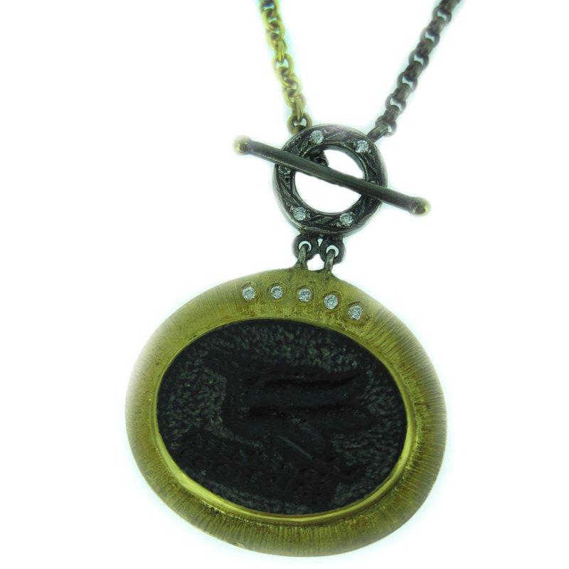 Kurtulan Kurtulan Diamond Toggle Necklace