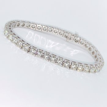 10ctw Diamond Tennis Bracelet