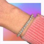 Decor 10ctw Diamond Tennis Bracelet