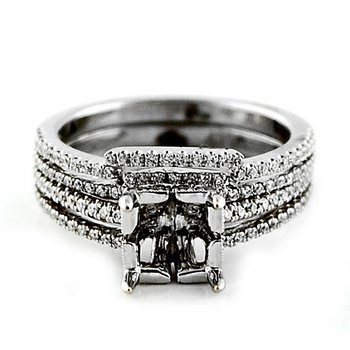 Diamond Ring Mounting & Wedding Band