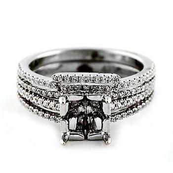 Diamond Ring Mounting & Wedding Band