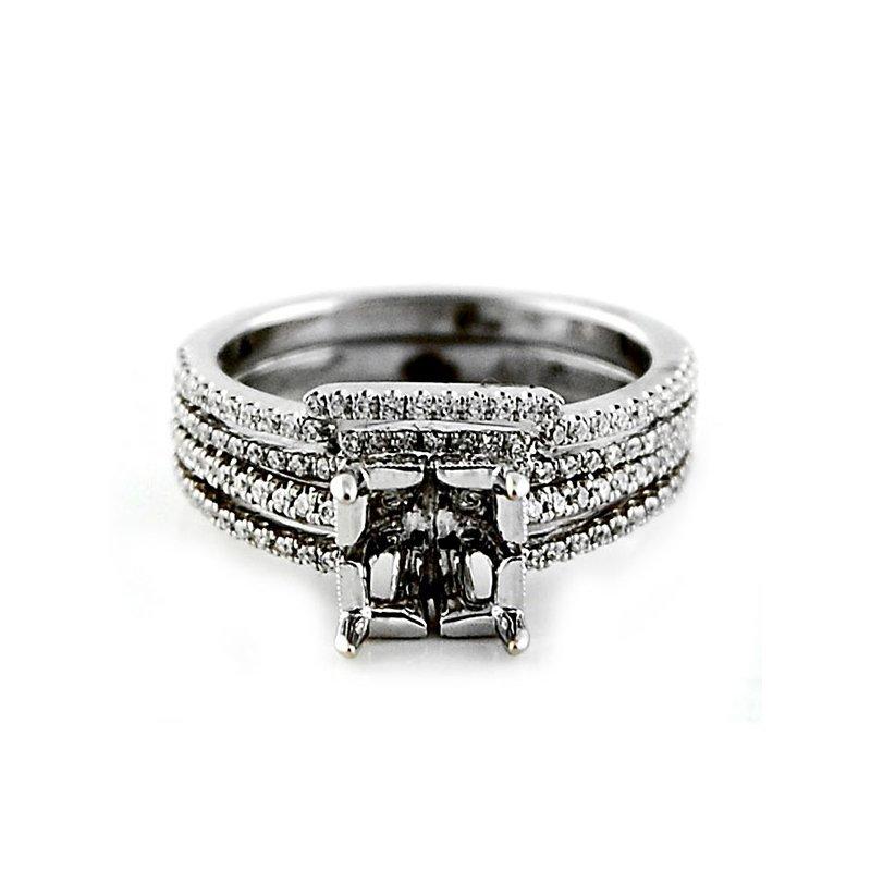 Decor Diamond Ring Mounting & Wedding Band