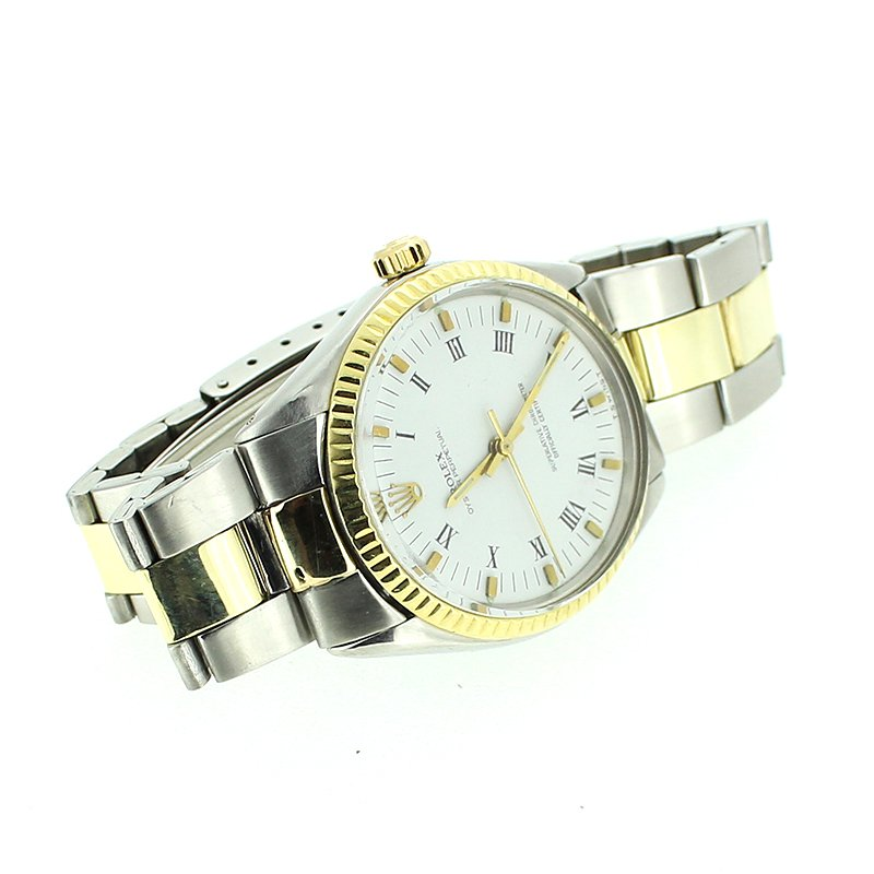 Pre-owned Rolex Two Tone Watch
