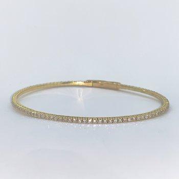 1.56ctw Flexible Diamond Bracelet