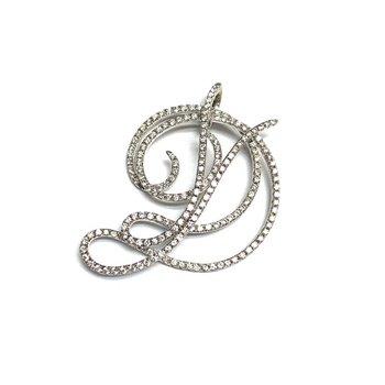 Diamond Initial Pendant