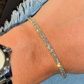 3.34ctw Flexible Diamond Bracelet