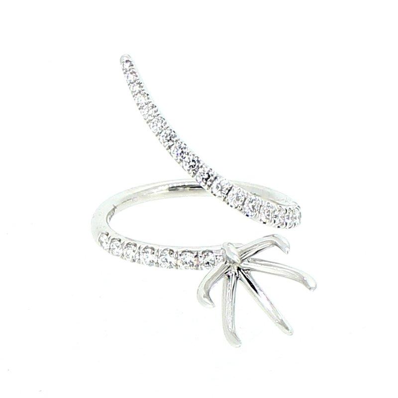Decor Diamond Swirl Ring Mounting