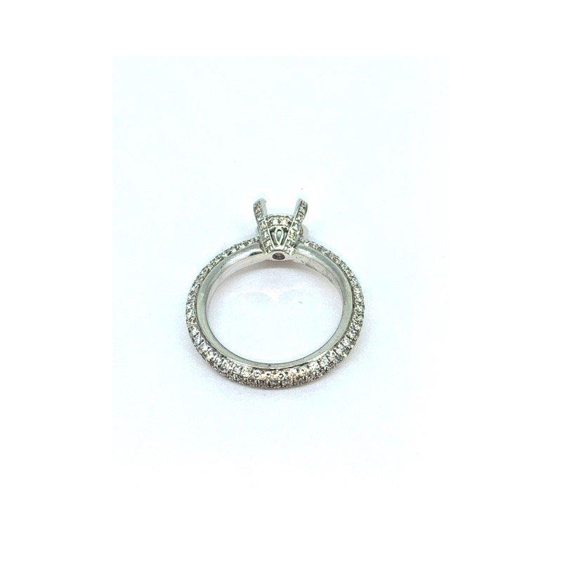Siera Pave Diamond Ring Mounting