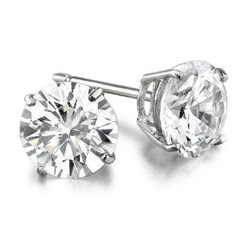 1.52ctw Diamond Stud Earrings