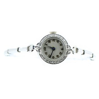 Platinum & Diamond Ladies Watch