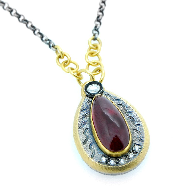 Kurtulan Kurtulan Ruby Diamond Necklace