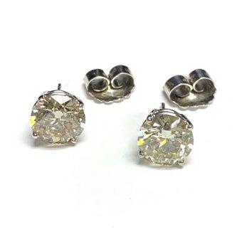 5.17ct Diamond Studs
