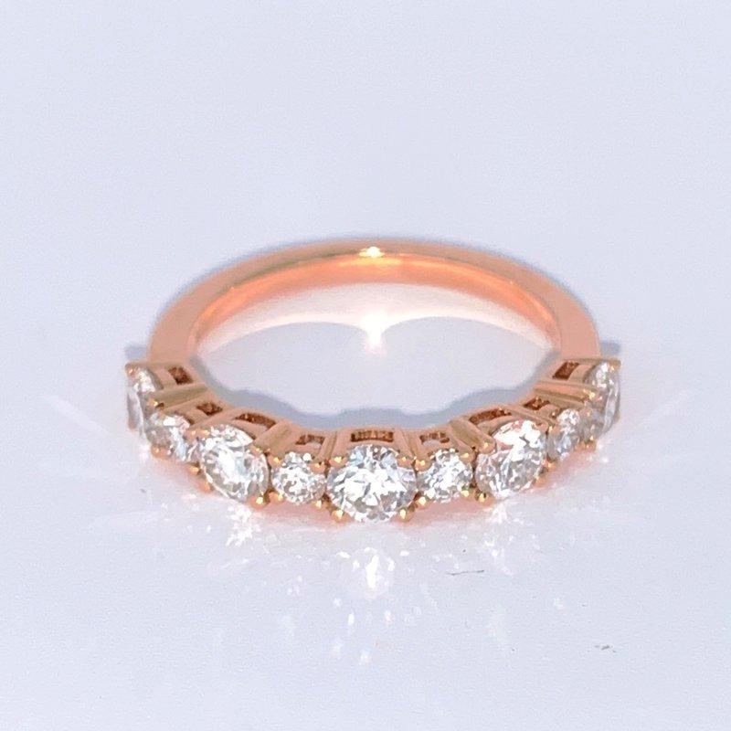 Decor Alternating Diamond Band