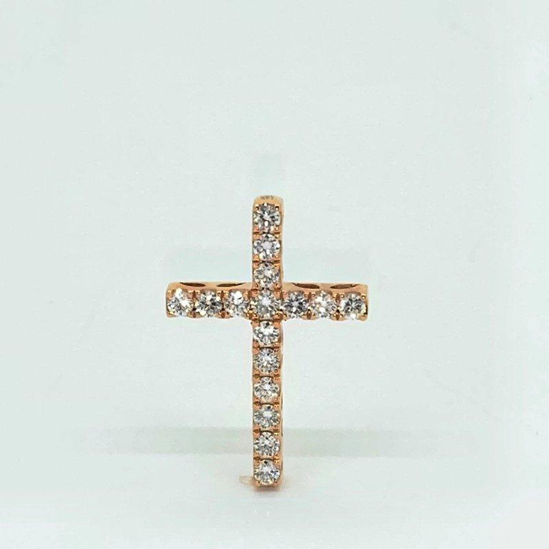 Decor Diamond Cross Pendant