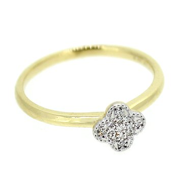 Dainty Diamond Cluster Ring