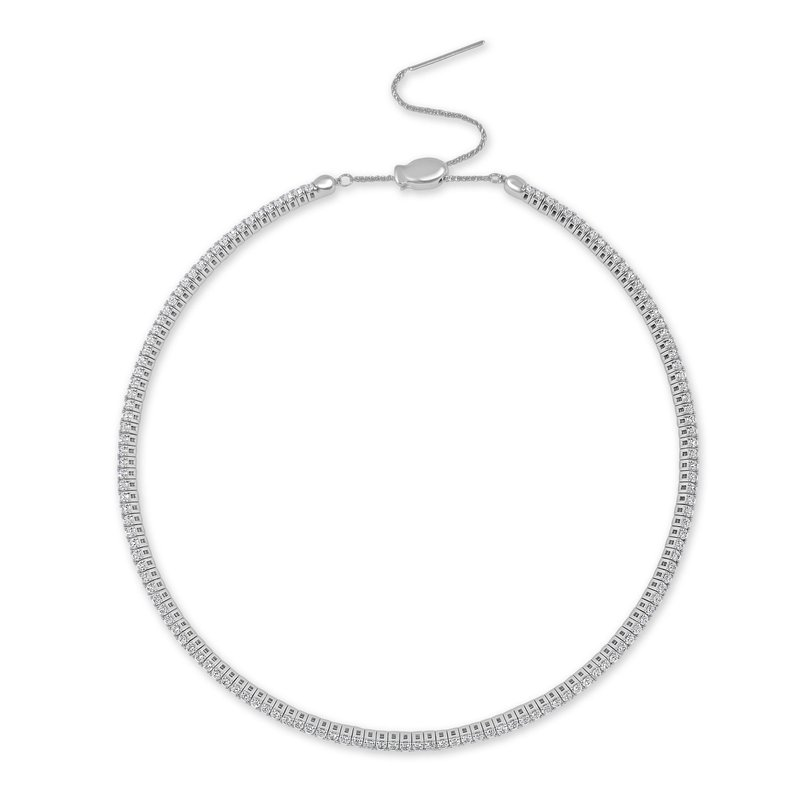 Sabrina 3.56ctw Diamond Choker Necklace