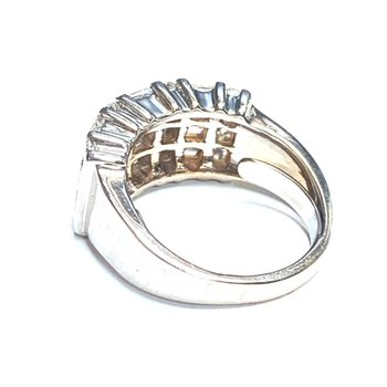 Diamond and Baguette Ring