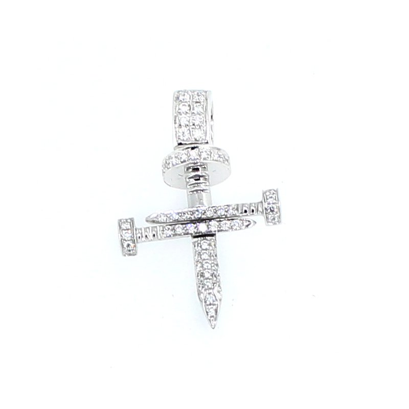 Decor Nail Diamond Cross