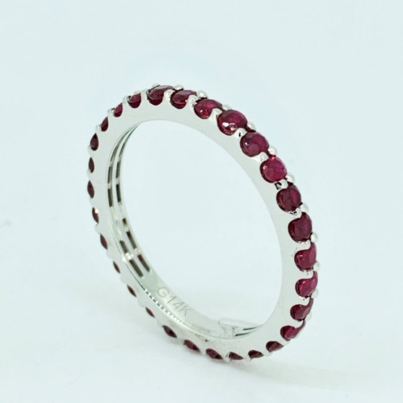 Decor Ruby Stackable Eternity Band