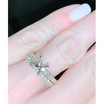 Diamond Engagement Ring Mounting & Band