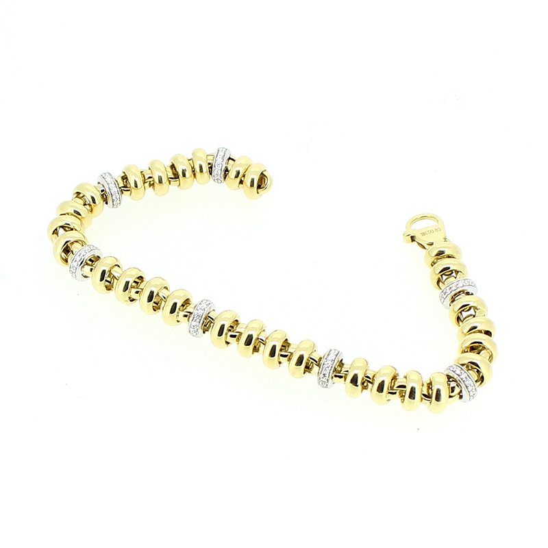 Decor Gold & Diamond Bracelet