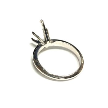 Pear Solitaire Diamond Ring Mounting